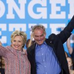 Clinton puts faith in Catholic running mate