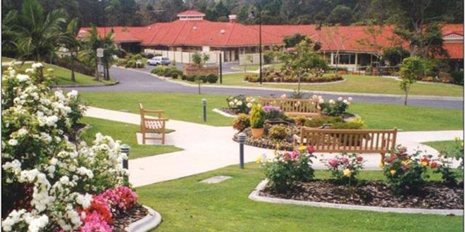 Caring environment: The St Paul de Chartres Residential Aged Care and Retirement Units are set  in beautiful gardens and peaceful surroundings.