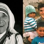 Mother Teresa and Fr Dominic Murphy