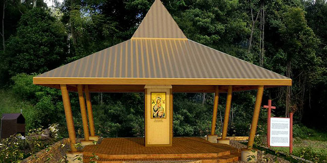 New Filipino shrine in Canungra to take on shape of traditional hat