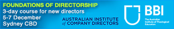 Foundations of Directorship short courses