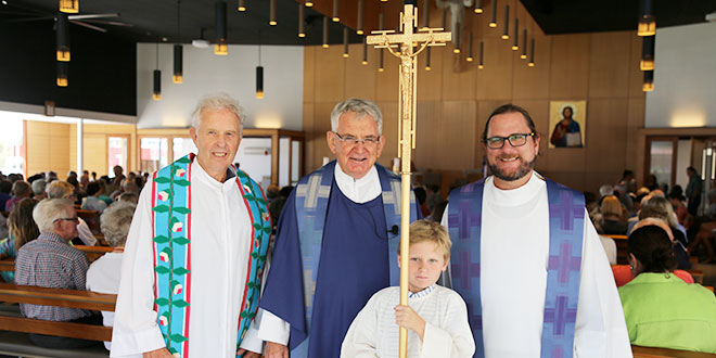 Priests at Maroochydore parish opening