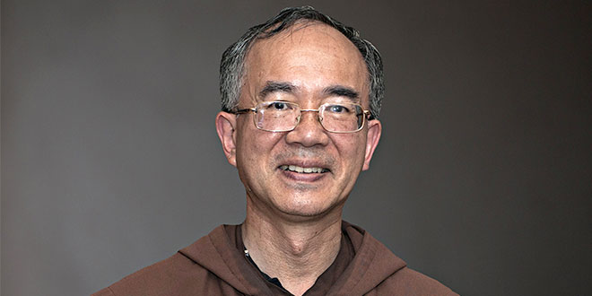Bishop-elect Geoffrey Homeming