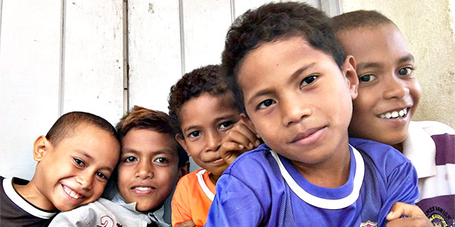 Gold Coast Catholic couple help reopen school for East Timorese children
