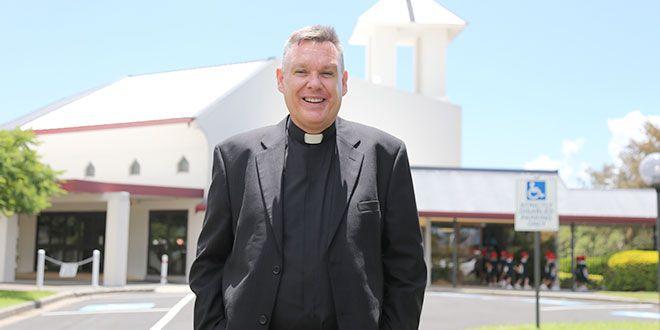 New shepherd already listening to Townsville's pastoral needs