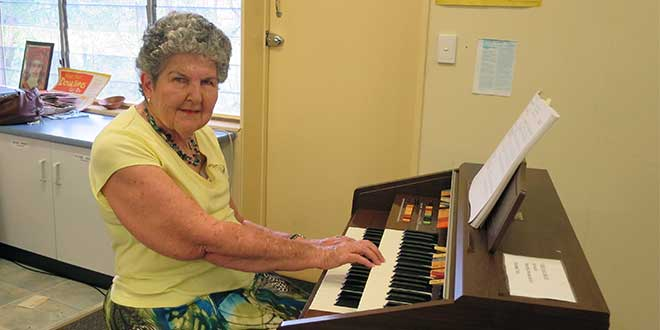 Carmel Cole celebrated for 50 years of church organ playing