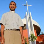 Timorese priest helped by Burleigh parish attends new church Dedication Mass on the Gold Coast