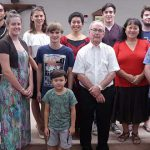 Parish friends with new Catholic Jesse Smith