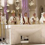 Priests at the Chrism Mass
