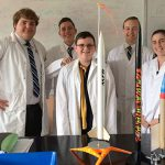 Students at Casino Catholic school behind 'mysterious' rocket launch