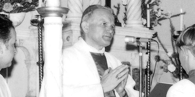 St John Paul II at Bowen Hills