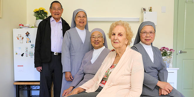Priest's dream to see Chinese religious sisters open a nursing home in Brisbane came true 25 years ago