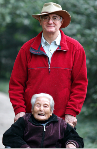 Priest and Chinese mother