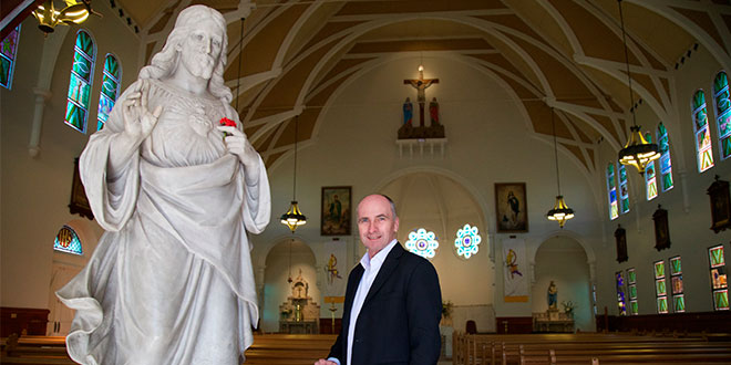 Sacred Heart Church bears the scars of history for centenary celebrations