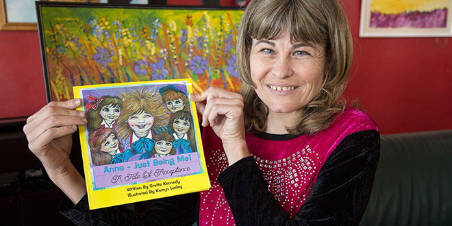 Redcliffe woman diagnosed with rare disorder writes book on accepting people with a disability