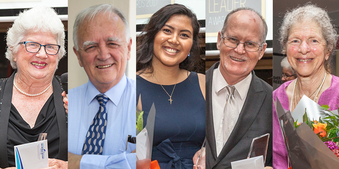 Meet the winners of the 2017 Community Leader Awards