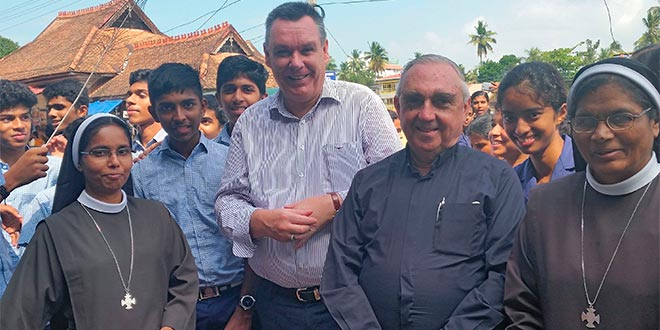 Bishop Tim Harris in India