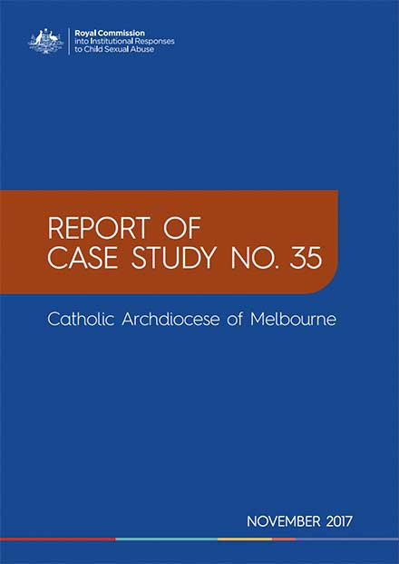 Cover of new report by Royal Commission