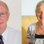 Dr Rod Campbell and Margaret Miller