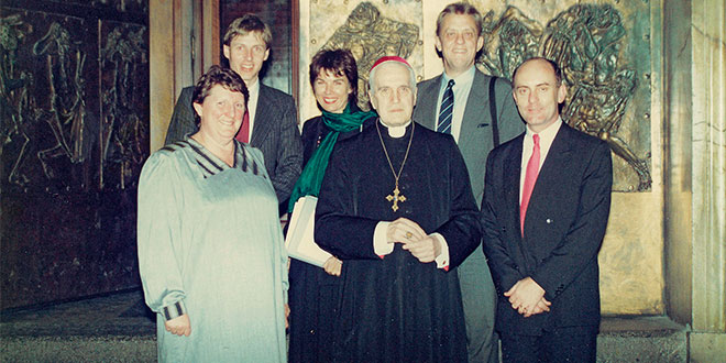 Australian conservator remembers unforgettable request to curate Brisbane-bound Vatican exhibition for World Expo '88