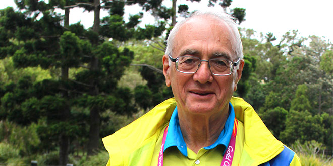 Fr Warren Kinne Commonwealth Games chaplain