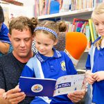 St Luke's students read from new children's book