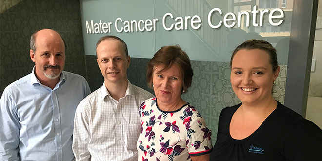 Mater Research Care Centre staff