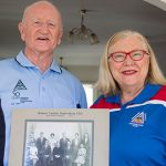 Catholic bushwalking club members Mervyn Galvin and Michele Endicott