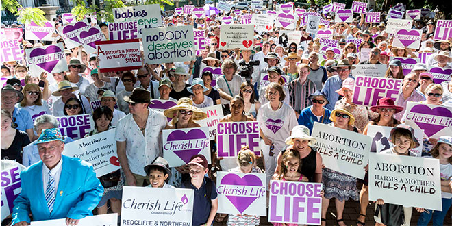 Federal and state parliamentarians encourage pro-life Queenslanders at March for Life rally
