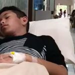 Miguel Balagtas in the emergency room in the Philippines