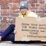Helen Yost ambassador for Vinnies CEO Sleepout