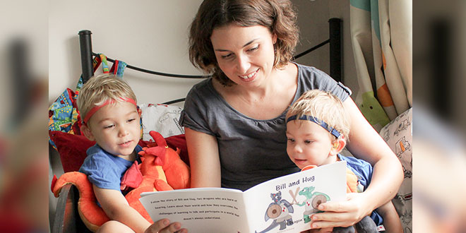 Sons with hearing aids inspire Mackay mum's first book