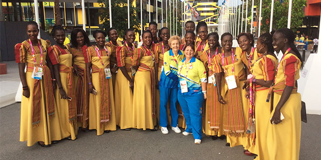 Ugandan athletes at Commonwealth Games