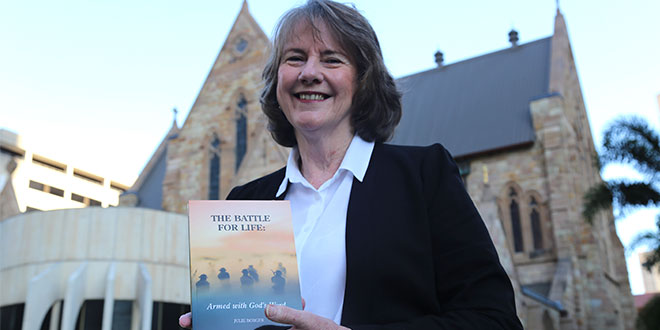Julie Borger with new pro-life book
