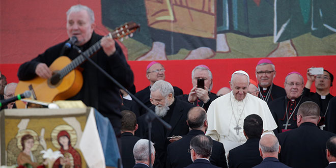 Pope with Neocats