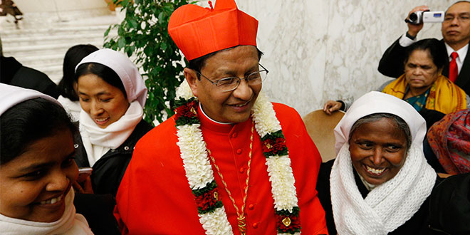 Myanmar cardinal praises Australia's generosity in helping return 'dignity to our poor youth'