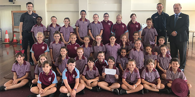 Young film crew from Gordonvale Catholic school
