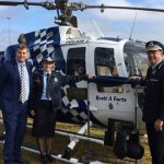 Helicopter named after Senior Constable Brett A Forte