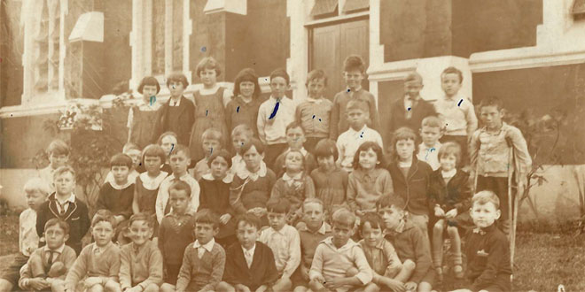 Sacred Heart Primary School class photo