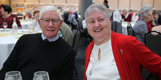 Christian Brother Peter Harney and Mercy Sister Mary Lowcock