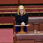 Queensland senator Amanda Stoker delivers her maiden speech