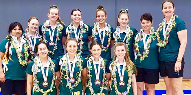 Chanel College netball