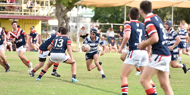 St Mary's claims Confraternity shield with inspiration from Johnathan Thurston