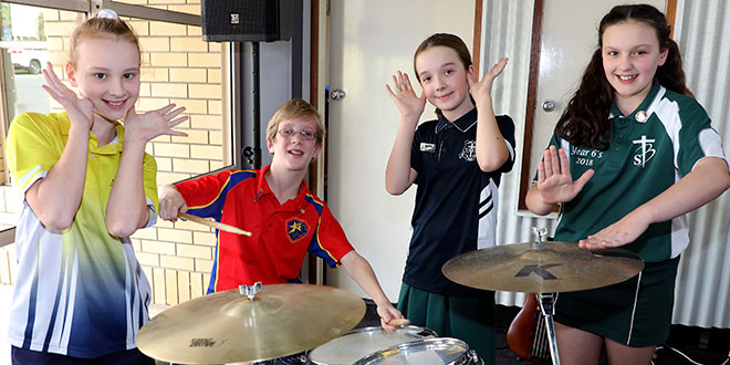 Brisbane students celebrate Catholic Education Week with song
