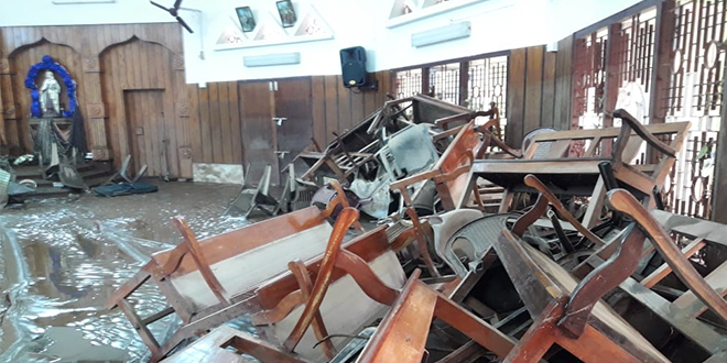 Kerala church destroyed