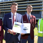 Mt Maria College students study new energy plan
