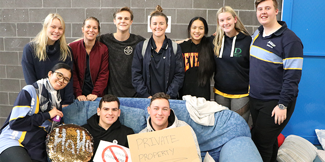 St Eugene's College, Burpengary, students sleep out for homeless