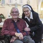 Former atheist and political leader Bill Hayden baptised at age 85 at St Mary's Church, Ipswich