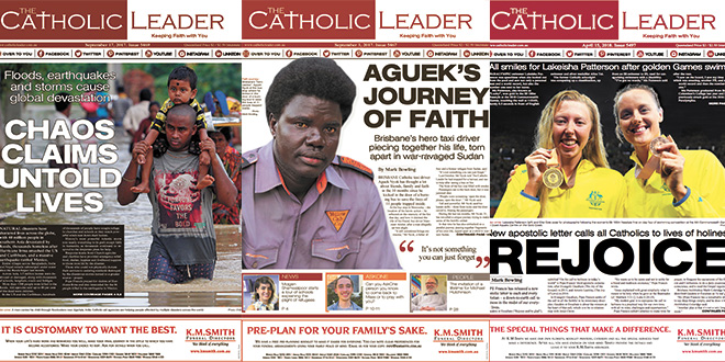 The Catholic Leader team wins multiple media awards for their work