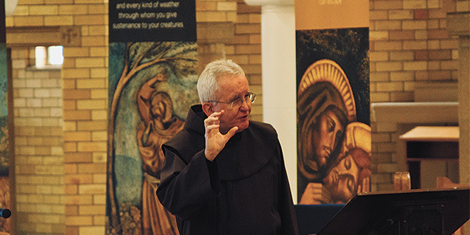 Friar urges respect and care for 'God's work of art' at World Day of Prayer for the Care of Creation